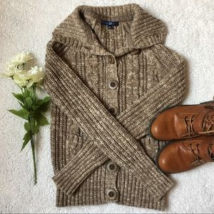 🍂Gap chunky sweater cardigan🍂